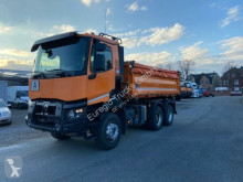 Renault three-way side tipper truck K 460/6x4/Meiller 3-S-Kipper Bordmatic/EURO6