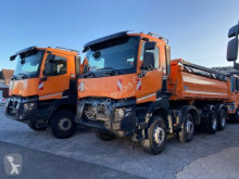 Renault three-way side tipper truck K 460/8x4/Meiller 3-S-Kipper Bordmatic/EURO6
