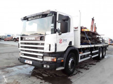 Camion Scania 114 340 steel plateau occasion