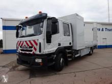 Camião Iveco Eurocargo ML 120 E 18 D/P estrado / caixa aberta caixa aberta usado