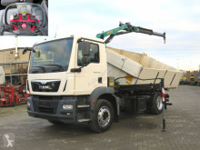 MAN three-way side tipper truck TGM TG-M 15.250 BL 2-Achs Kipper Kran Palfinger +Funk