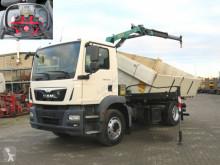 Camión volquete volquete trilateral MAN TGM TG-M 15.250 BL 2-Achs Kipper Kran Palfinger +Funk