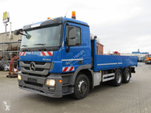 Camion Mercedes Actros 2655 L 6x4 Pritsche V8 engine, Blatt Luftfed. plateau ridelles occasion