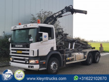 Scania P truck used container