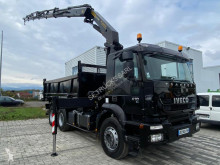 Iveco three-way side tipper truck Trakker