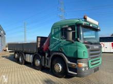 Camión caja abierta teleros Scania P 340
