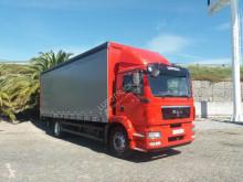 Camión MAN TGM 18.250 BL tautliner (lonas correderas) usado
