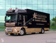 Camião cortinas deslizantes (plcd) DAF FA XF105.410 EURO 5 REMOVAL BOX / 1 SIDE CURTAIN