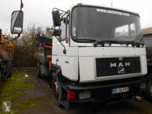 Camión MAN 19.372 volquete usado