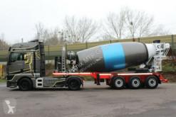 Concrete mixer concrete semi-trailer EUROMIX MTP 12m Mischauflieger