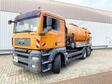 Maquinaria vial camión limpia fosas MAN TGA 26.350 6x2-4 BL 26.350 6x2-4 BL, Lenk-/Liftachse, Kroll Saug-/Spülwagen ca. 13m³