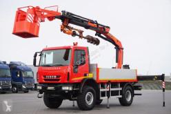 Ciężarówka Iveco 150E25 / 4 X 4 / HDS PALFINGER PK 16502 / WIERTŁO platforma używana