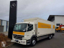 Mercedes beverage delivery flatbed truck Atego 2029 L 6x2 Getränkekoffer Schwenkwand+LBW