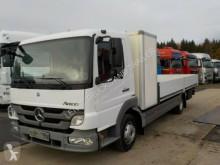 Lastbil Mercedes ATEGO 816-BLATT-MANUAL-ORG KM-TOP flatbed sidetremmer brugt