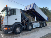 Camion Scania R 420 benă trilaterala second-hand