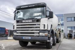Camión hormigón cuba / Mezclador Scania 114C380 + BETONMIXER 9M³