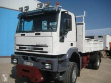 Lastbil Iveco Trakker 190 E 31 vagn för stengrundsläggning begagnad