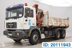 MAN three-way side tipper truck 27.314 -