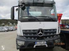 Camião Mercedes Arocs 3235 betão betoneira / Misturador acidentado
