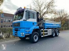 Camión MAN TGA TGA 26.400 6X6 BB Mit Kran HMF 16 TON volquete volquete trilateral usado