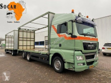 MAN TGX 26.400 trailer truck used tarp