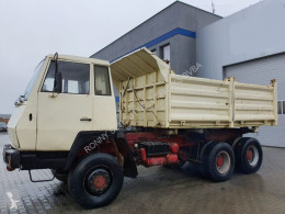 Steyr three-way side tipper truck Andere 1491 MAN 6x6 SHD