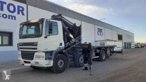 Vrachtwagen DAF CF85 430 tweedehands platte bak standaard