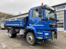 Camión volquete trilateral MAN TGM 18.290 4x4 BB Euro 6 Meiller Winterplatte