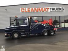 Camión de asistencia en ctra Scania T