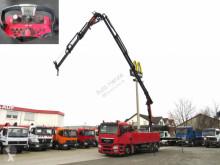 Camión caja abierta MAN TG-S 26.400 6x2-2 LL Pritsche Heckkran PK34002+Jib