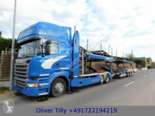 Scania car carrier trailer truck R R450*Euro6*MetagoProSupertrans Fuhrpark*