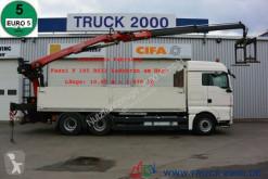 Camion MAN TGX 26.480 EEV 6x4 Fassi F185BS22 10.9 m=1.47 t plateau ridelles occasion