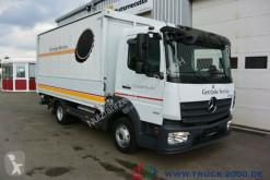 Camión Mercedes Atego 816 Automatikrollo LBW 1.5 t DIN EN12642XL furgón transporte de bebidas usado