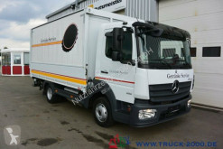 Mercedes Atego 816 Automatikrollo LBW 1.5 t DIN EN12642XL truck used beverage delivery box
