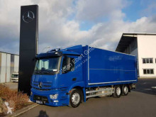 Mercedes Antos Antos 2536 L 6x2 Schwenkwand+LBW+AHK Safety Pack truck used beverage delivery box