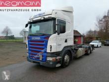 Lastbil Scania R400 LB6X2MNB, Retarder, Kupplungspedal, deutsch chassi begagnad