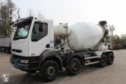 Teherautó Renault Kerax Stetter sur châssis 370 8x4 használt betonkeverő beton