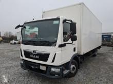 Camion furgon MAN TGL TGL 12.250 Koffer 4x2 3-Sitzer AHK LBW KLIMA