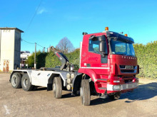Camion polybenne Iveco Trakker 340 T 45 8X4 SCARRABILE BALESTRATO