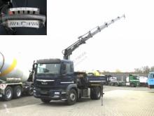 Camión MAN TGM TG-M 15.250 4x2 2-Achs Kipper Kran Hiab 144 5xhydr+Funk volquete trilateral usado