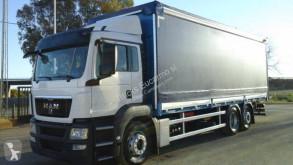 Camião MAN cortinas deslizantes (plcd) usado
