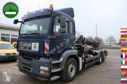 Camion dublu MAN TGA TGA 26.440 6X2-2BL PLAFINGER KRANE PK12502 KLIMA