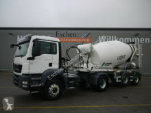 MAN TGS TGS 18.400H BLS, 10 m³ Stetter Auflieger, 205TKM tractor-trailer used concrete mixer concrete