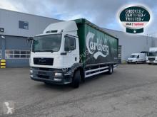 Camión MAN TGM 18.250 4X2 LL caja abierta transporte de bebidas usado