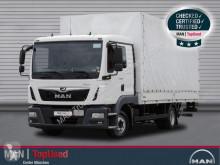 Camión lona MAN TGL 8.180 4X2 BL,l-Haus, Pritsche+ Plane