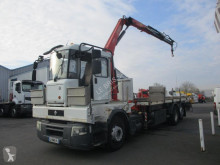 Renault Premium 320 DXI truck used iron carrier flatbed