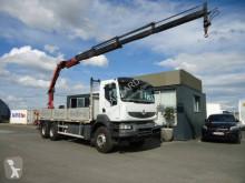 Camion platformă si obloane Renault Kerax 430 DXI