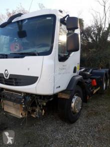 Camion Renault Premium 410 DXI polybenne accidenté
