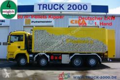 Camion benne MAN TGA 35.430 8x4 30 m³ Spezial Pellets Kippaufbau