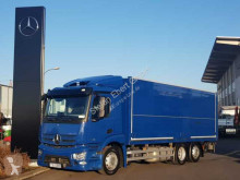 Mercedes beverage delivery flatbed truck Antos 2536 L 6x2 Schwenkwand+LBW+AHK Safety Pack